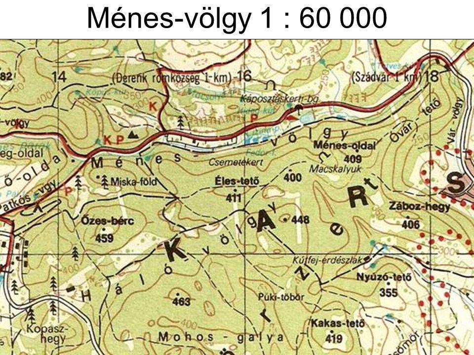 Ménes-völgy 1 : 60 000