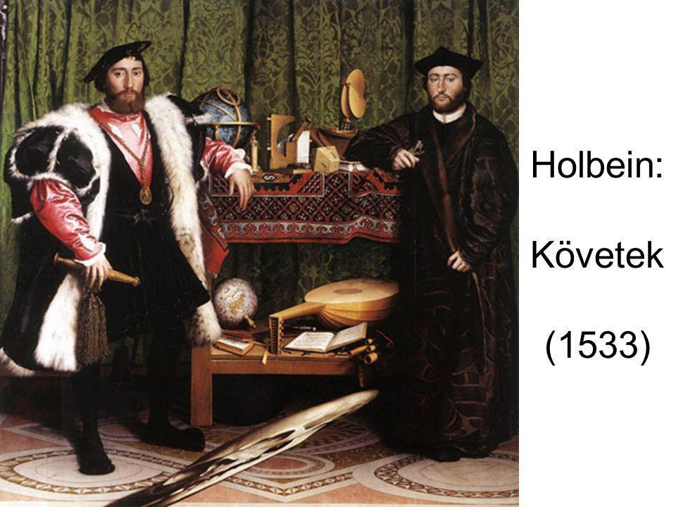 Holbein: Követek (1533)