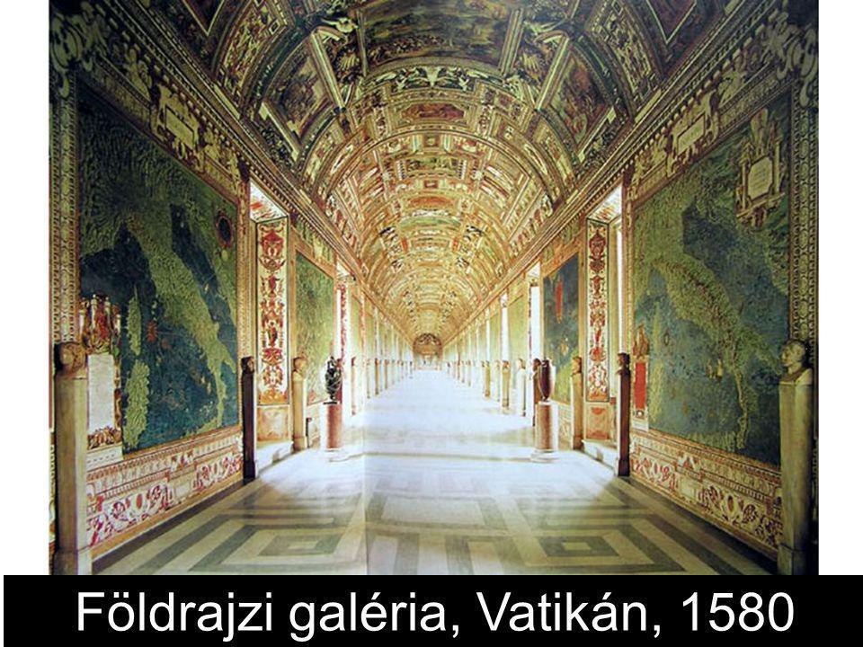 Földrajzi galéria, Vatikán, 1580