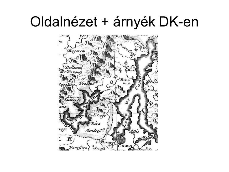 Oldalnézet + árnyék DK-en