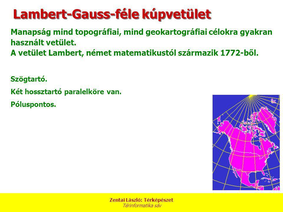 Lambert-Gauss-féle kúpvetület