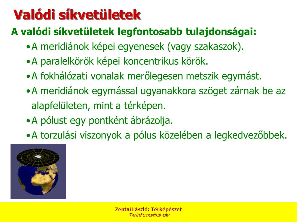 Zentai László: Térképészet