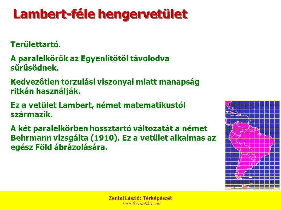 Lambert-féle hengervetület