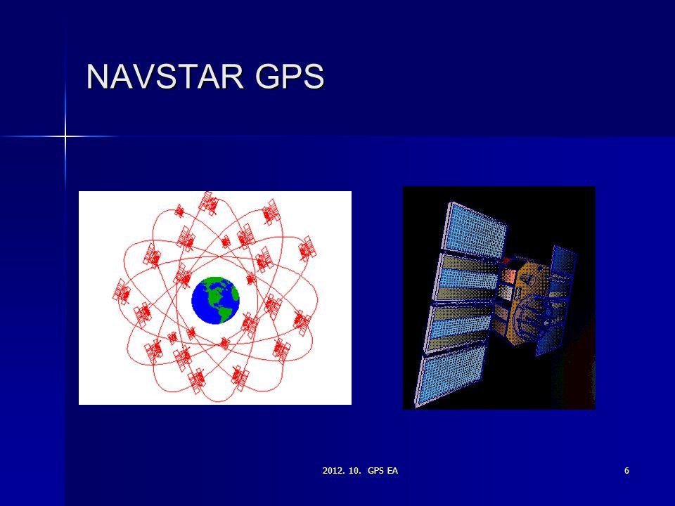 NAVSTAR GPS 2012. 10. GPS EA