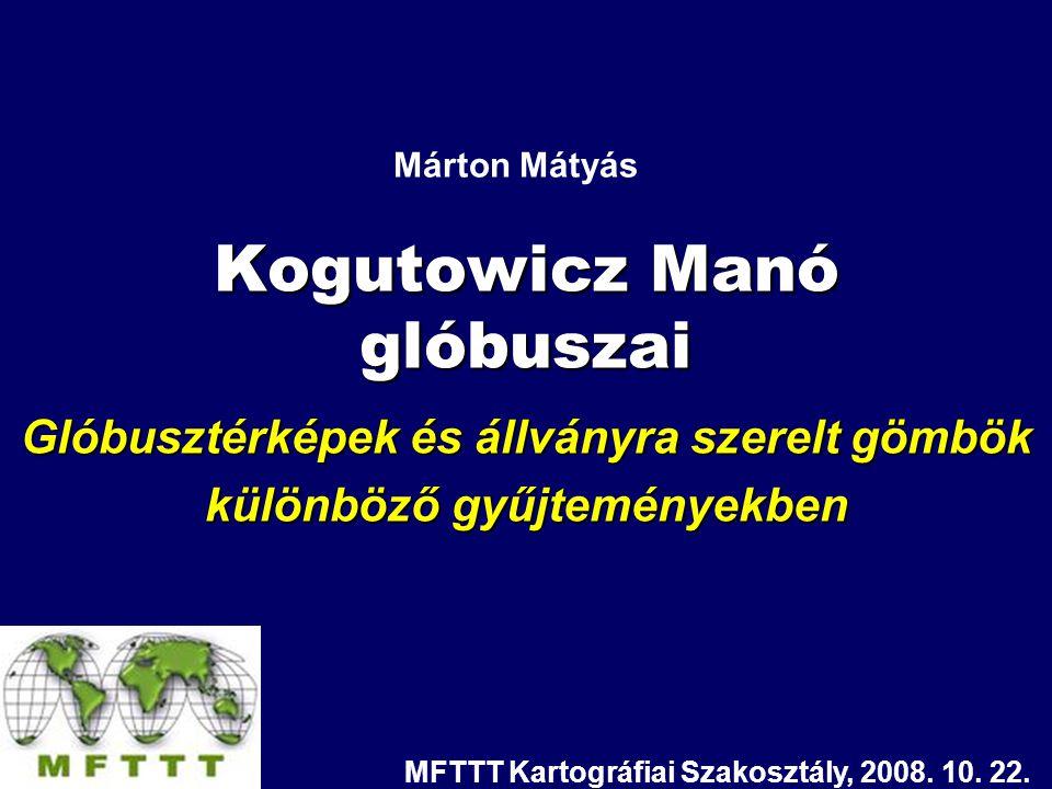 Kogutowicz Manó glóbuszai