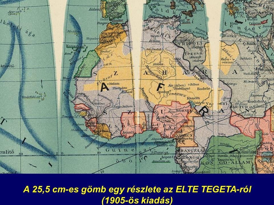 A 25,5 cm-es gömb egy részlete az ELTE TEGETA-ról