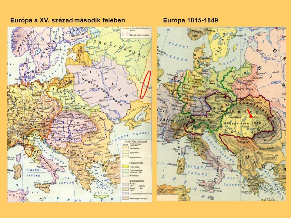 Európa a XV. század második felében