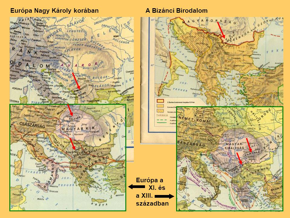 Európa Nagy Károly korában