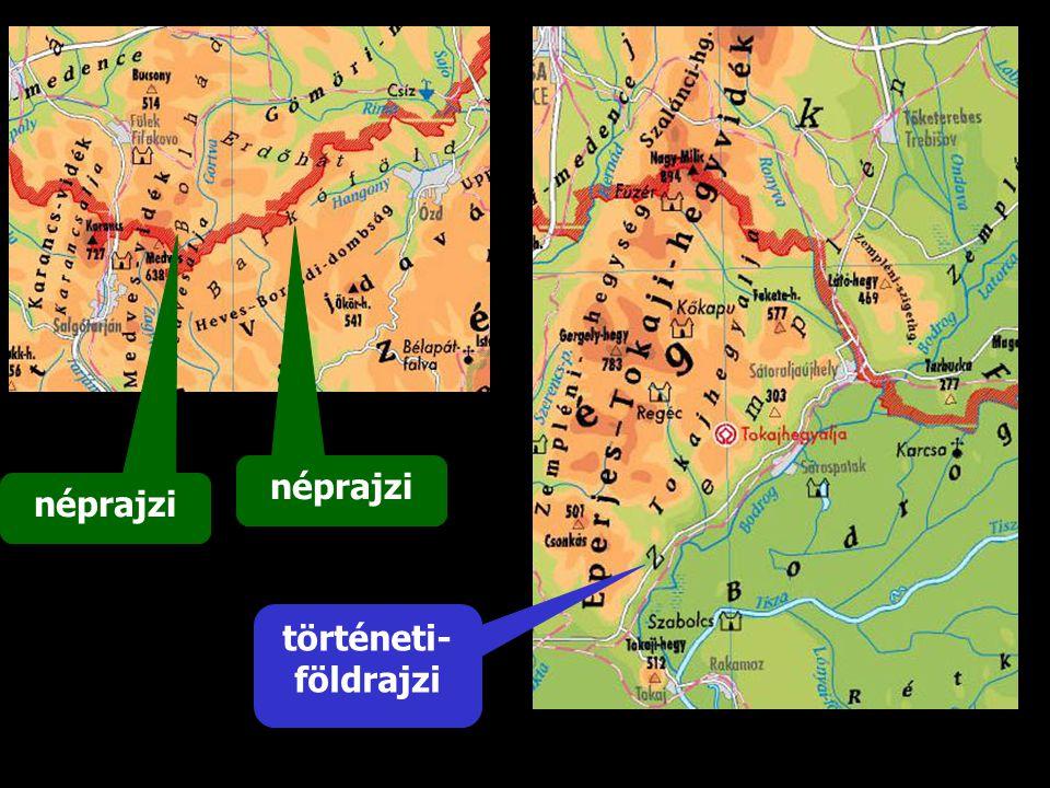 néprajzi néprajzi történeti-földrajzi