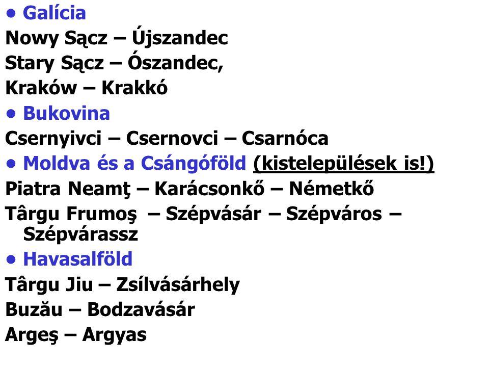 Csernyivci – Csernovci – Csarnóca