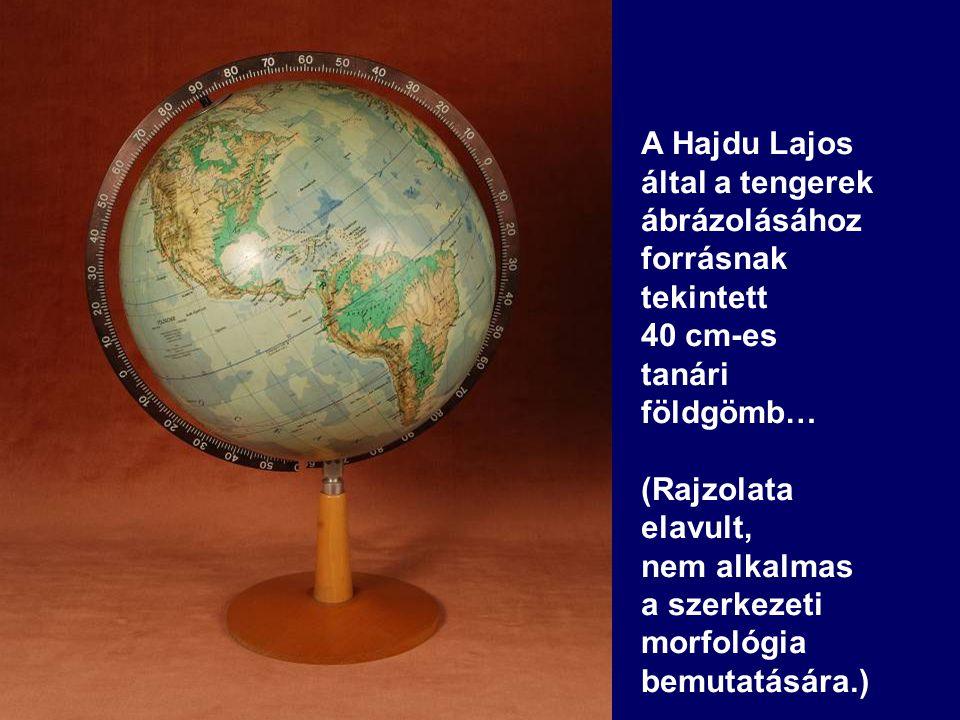 A Hajdu Lajos által a tengerek ábrázolásához forrásnak tekintett