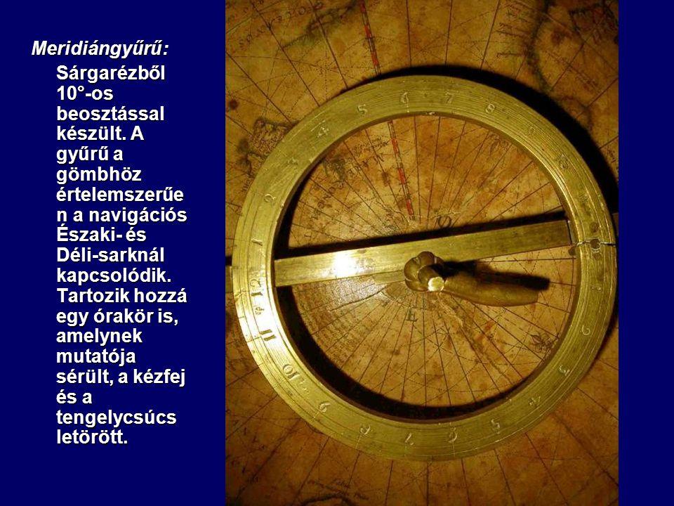 Meridiángyűrű: