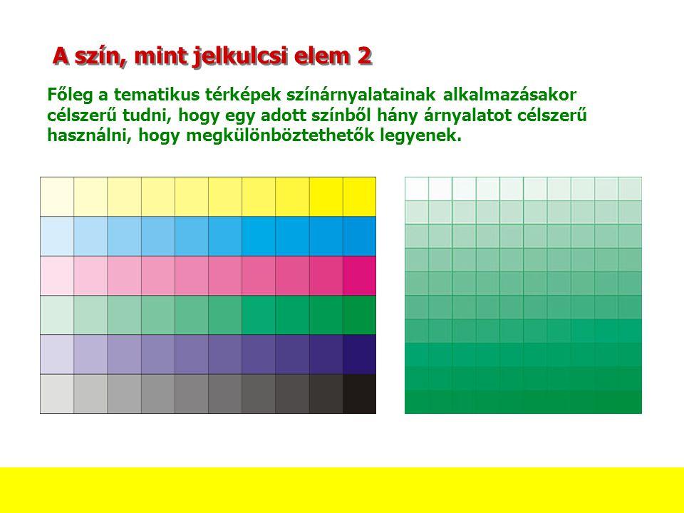 A szín, mint jelkulcsi elem 2