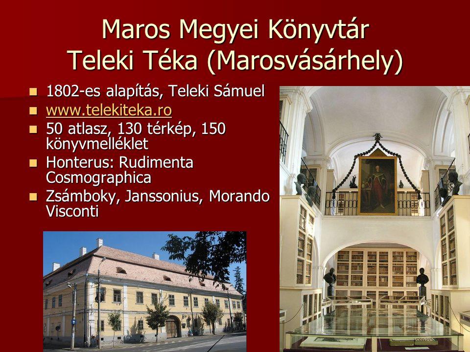 Maros Megyei Könyvtár Teleki Téka (Marosvásárhely)