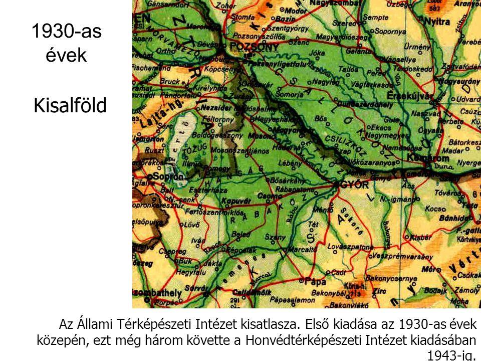 1930-as évek Kisalföld.