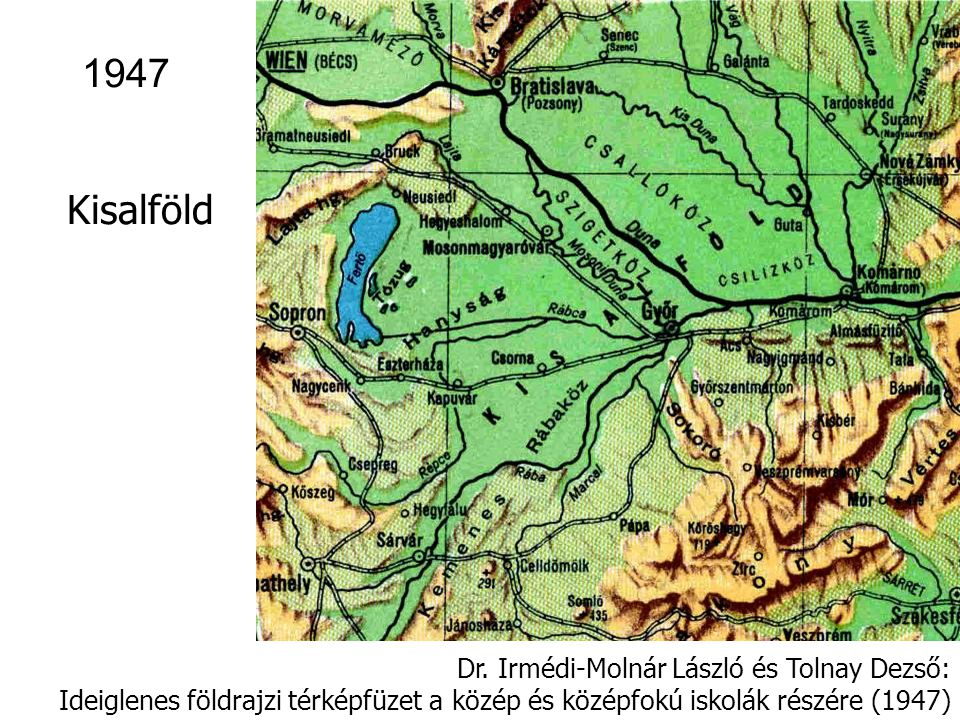 1947 Kisalföld Dr. Irmédi-Molnár László és Tolnay Dezső: