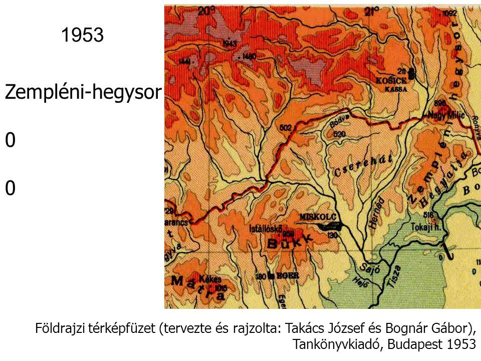 1953 Zempléni-hegysor.
