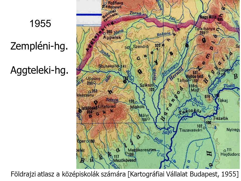 1955 Zempléni-hg. Aggteleki-hg.