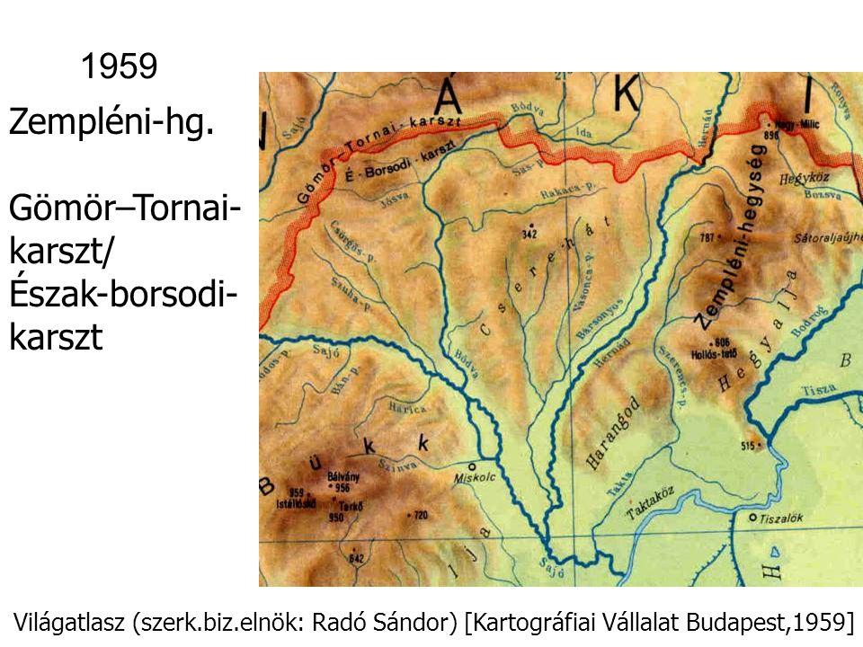 Gömör–Tornai-karszt/ Észak-borsodi-karszt