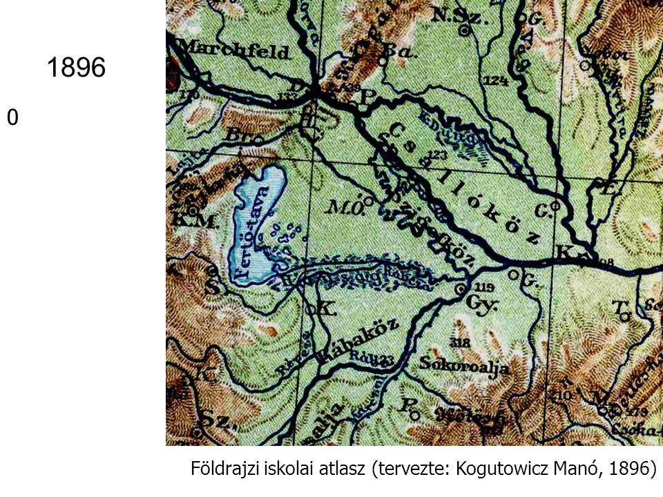 1896 Földrajzi iskolai atlasz (tervezte: Kogutowicz Manó, 1896)