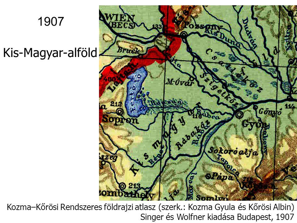 1907 Kis-Magyar-alföld.