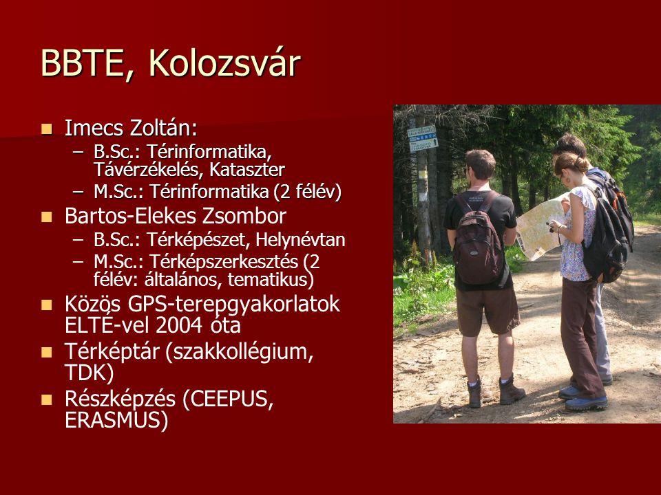 BBTE, Kolozsvár Imecs Zoltán: Bartos-Elekes Zsombor