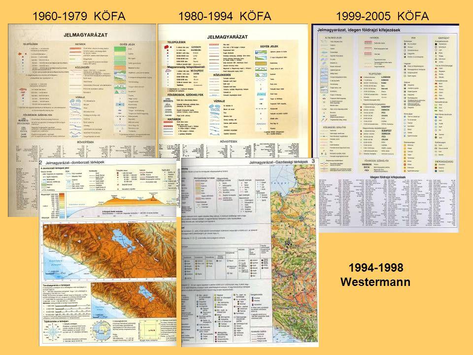 1960-1979 KÖFA 1980-1994 KÖFA 1999-2005 KÖFA 1994-1998 Westermann