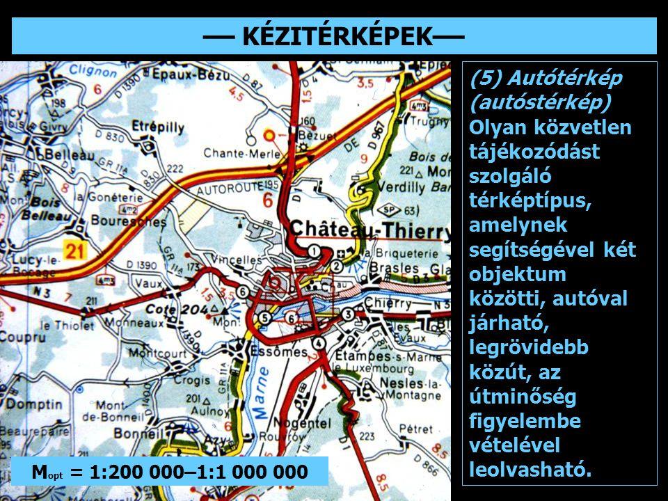 –– KÉZITÉRKÉPEK–– (5) Autótérkép (autóstérkép)