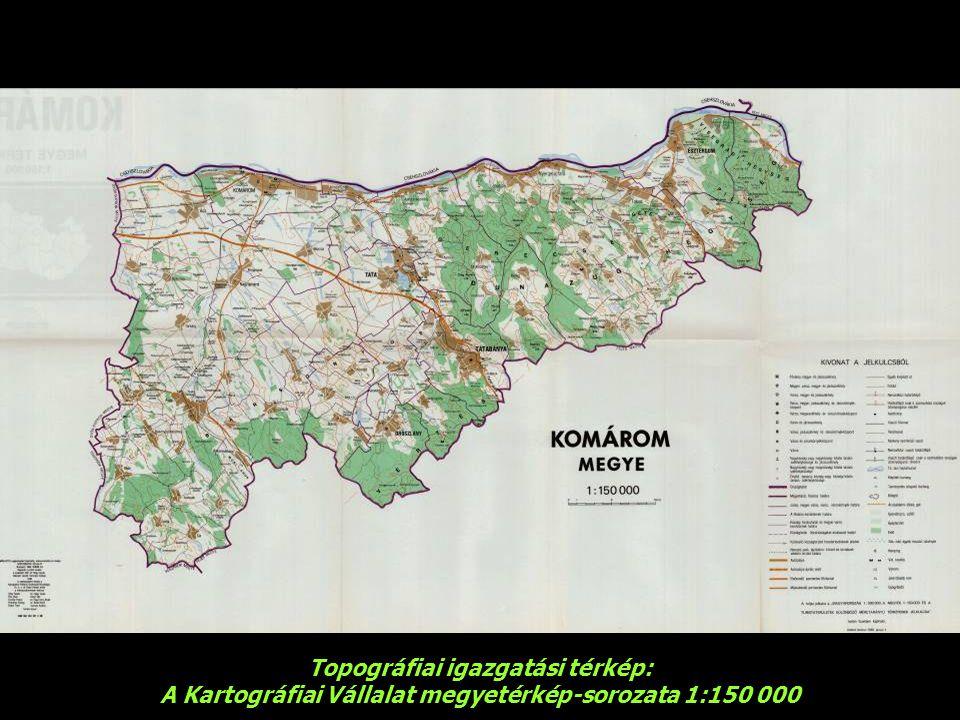 Topográfiai igazgatási térkép: