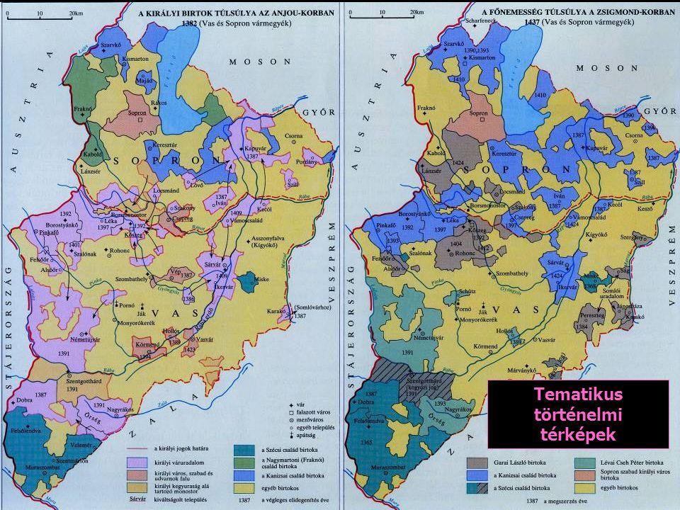 Tematikus történelmi térképek