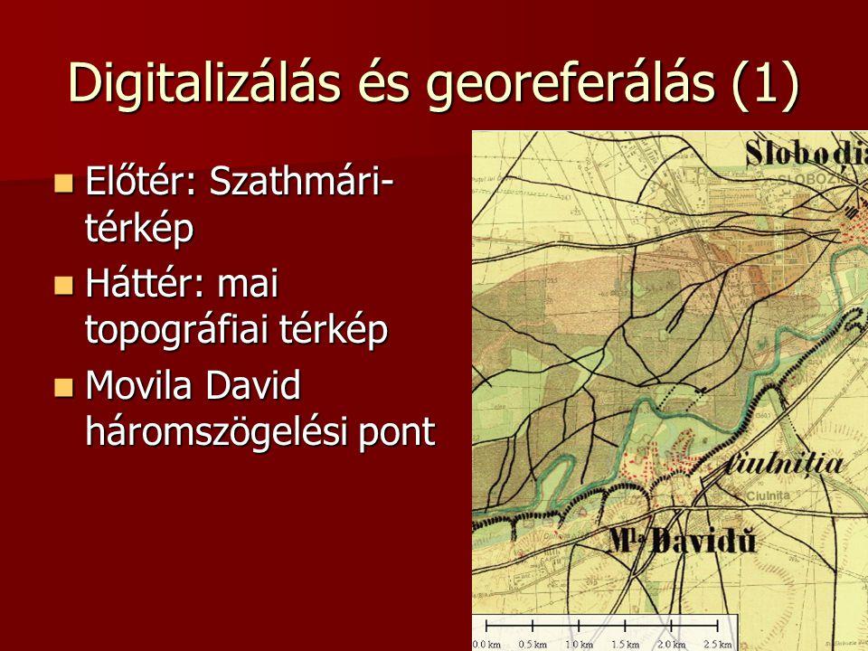 Digitalizálás és georeferálás (1)