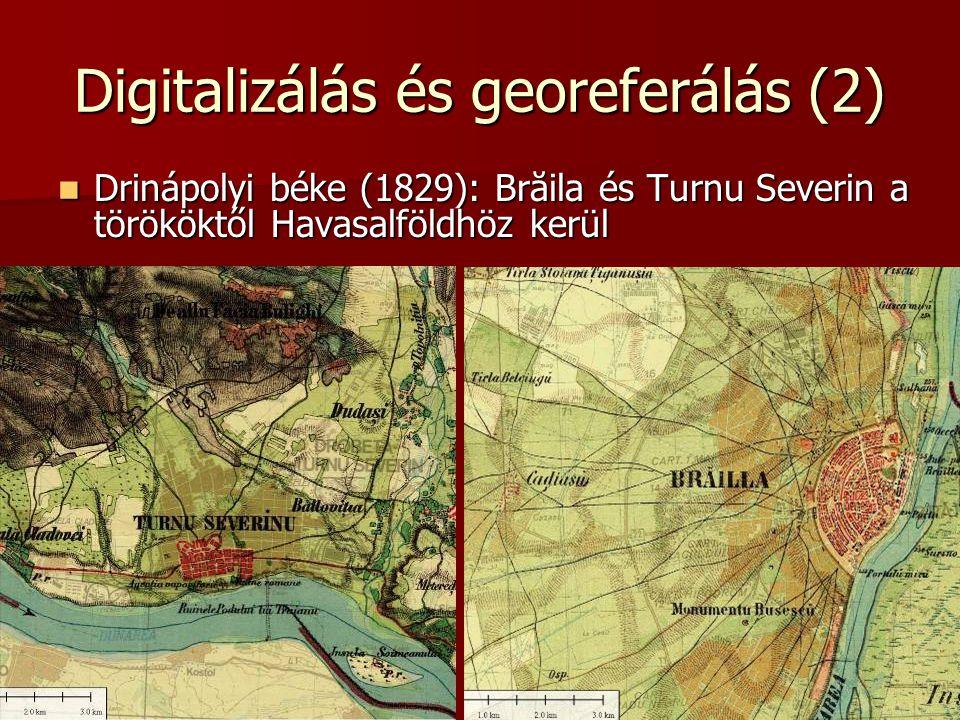 Digitalizálás és georeferálás (2)