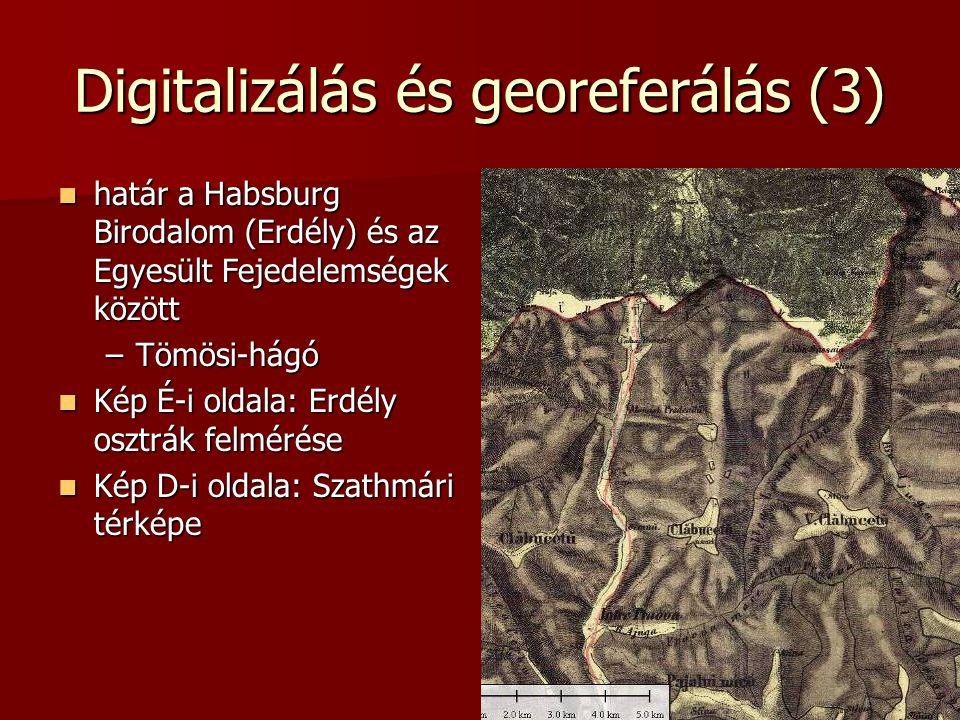 Digitalizálás és georeferálás (3)