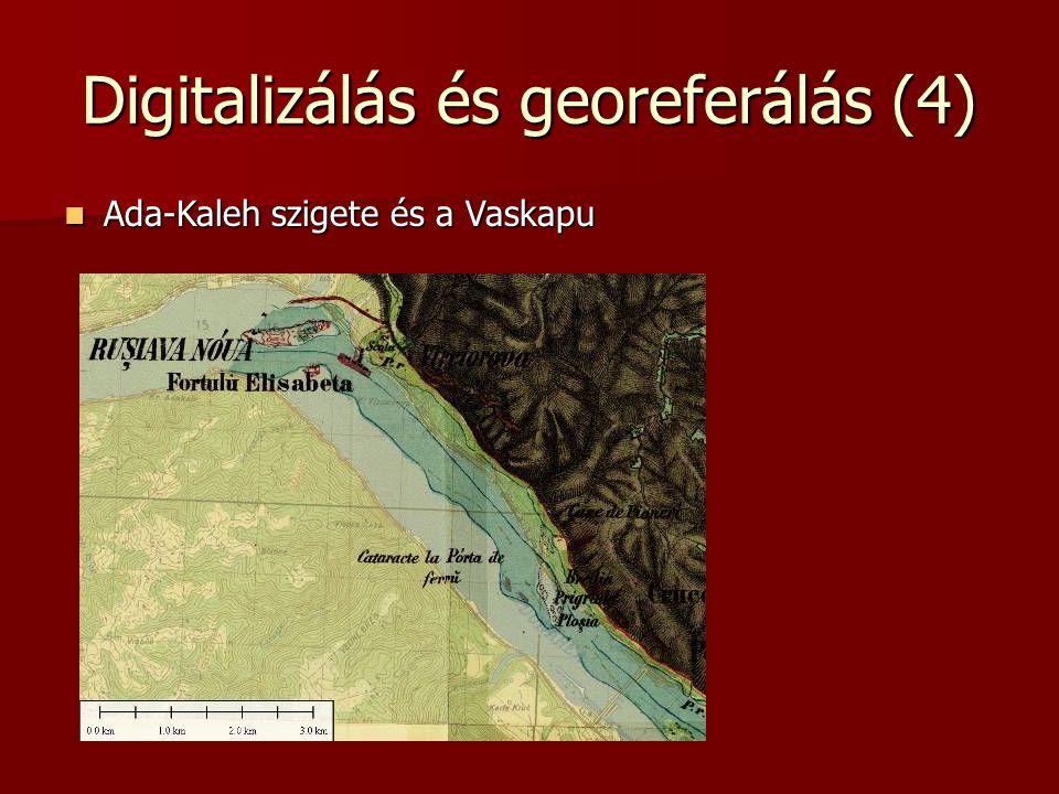 Digitalizálás és georeferálás (4)