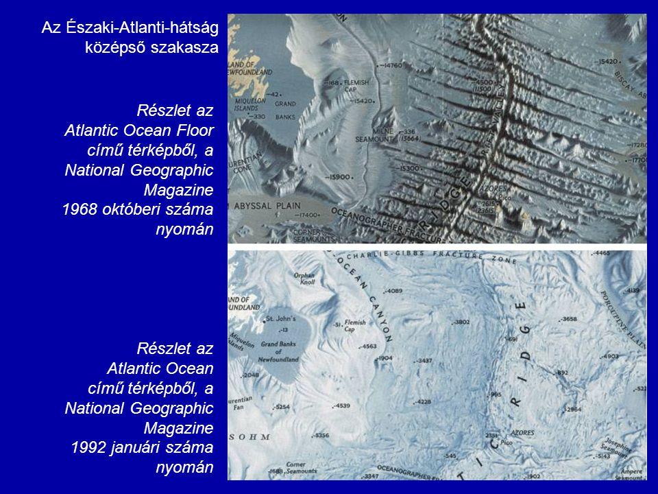 Az Északi-Atlanti-hátság középső szakasza