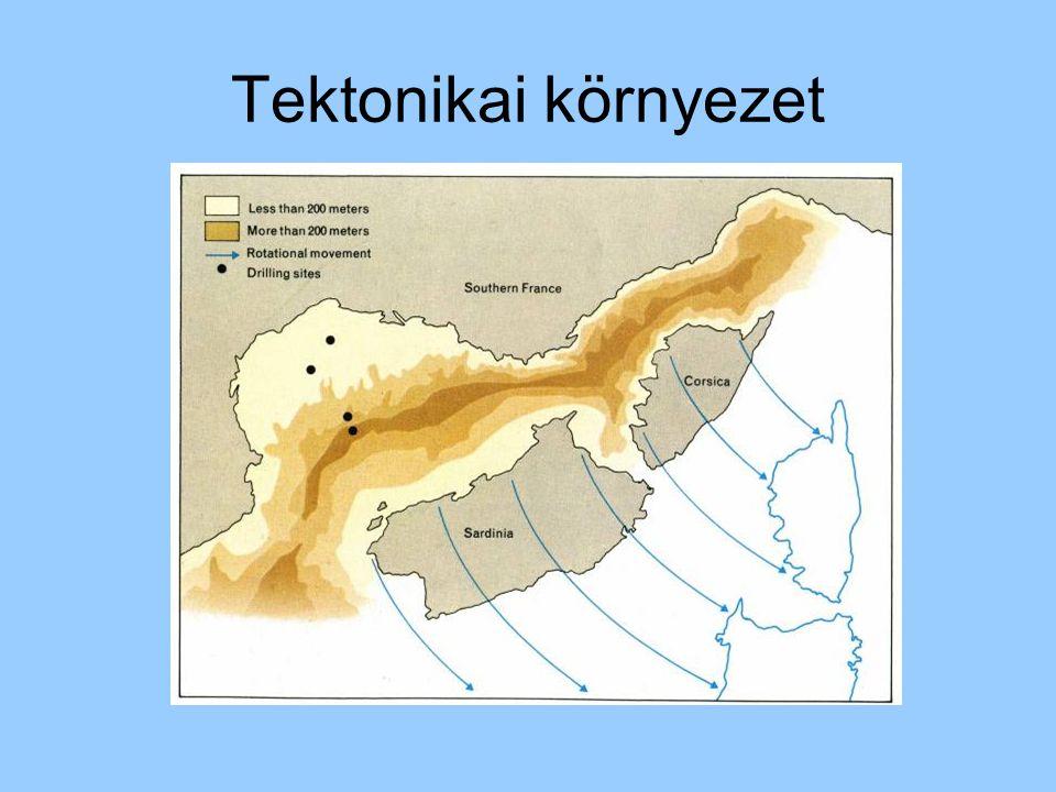 Tektonikai környezet