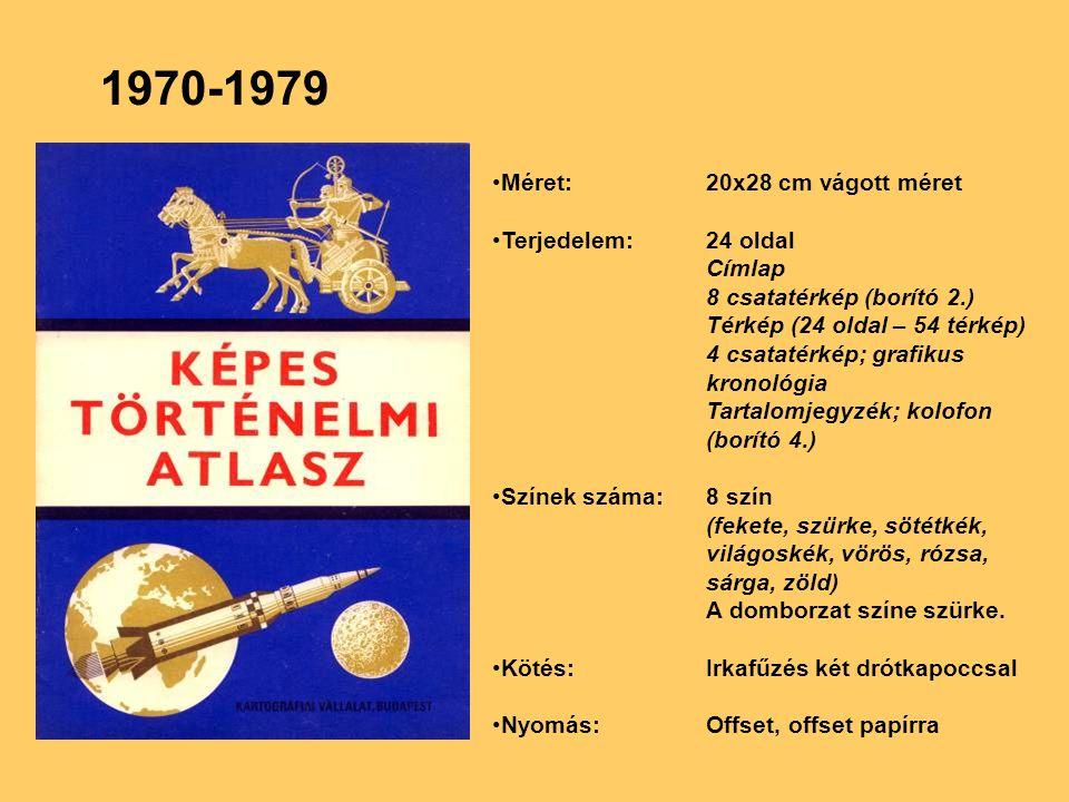 1970-1979 Méret: 20x28 cm vágott méret Terjedelem: 24 oldal Címlap