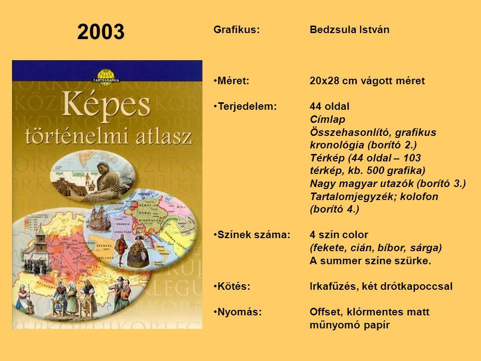 2003 Grafikus: Bedzsula István Méret: 20x28 cm vágott méret