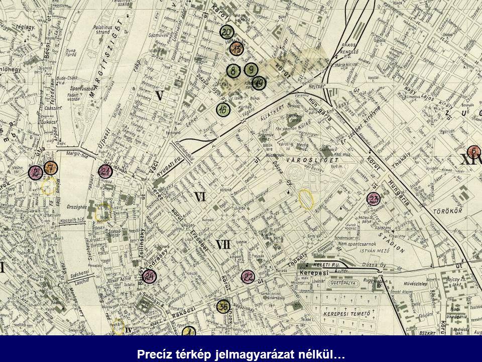 Precíz térkép jelmagyarázat nélkül…