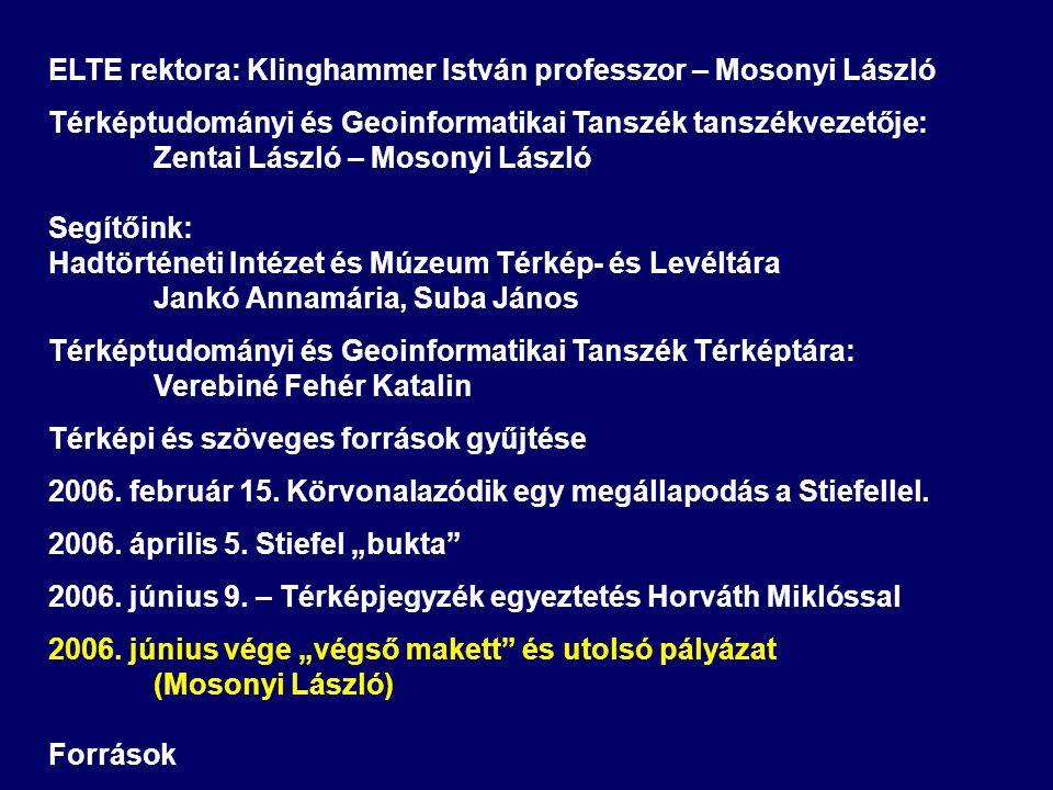 ELTE rektora: Klinghammer István professzor – Mosonyi László