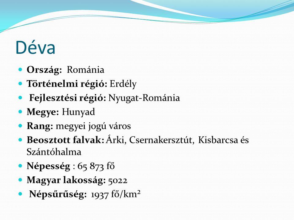 Déva Ország: Románia Történelmi régió: Erdély