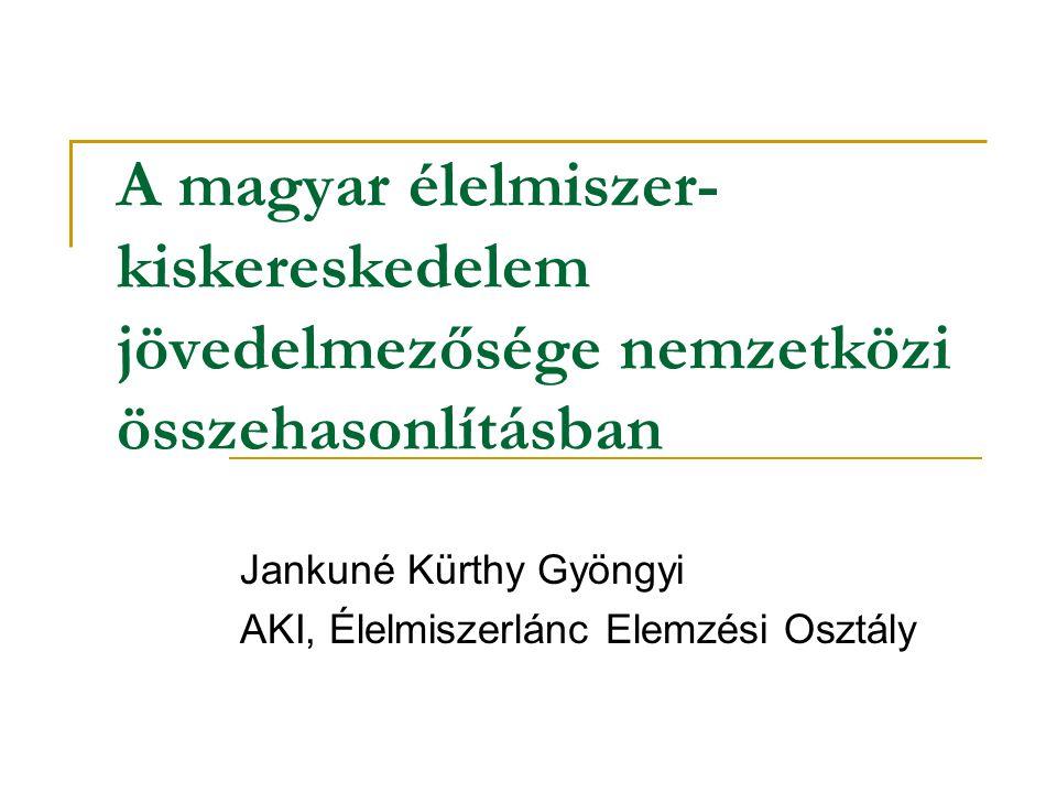 Jankuné Kürthy Gyöngyi AKI, Élelmiszerlánc Elemzési Osztály