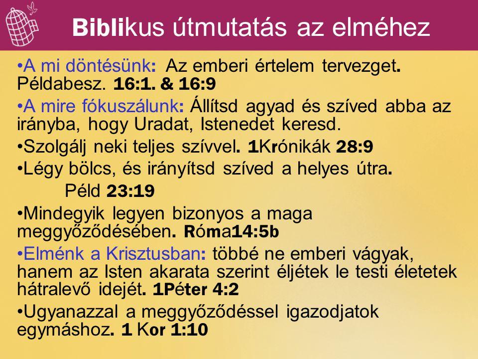 Biblikus útmutatás az elméhez