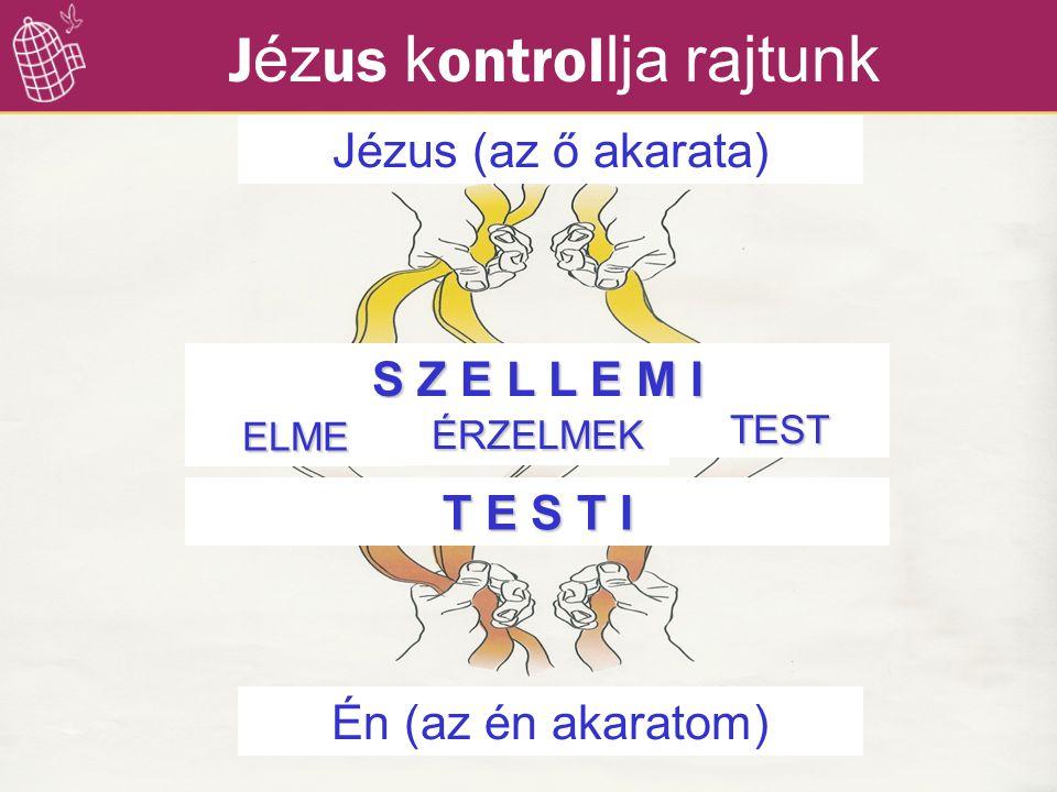 Jézus kontrollja rajtunk