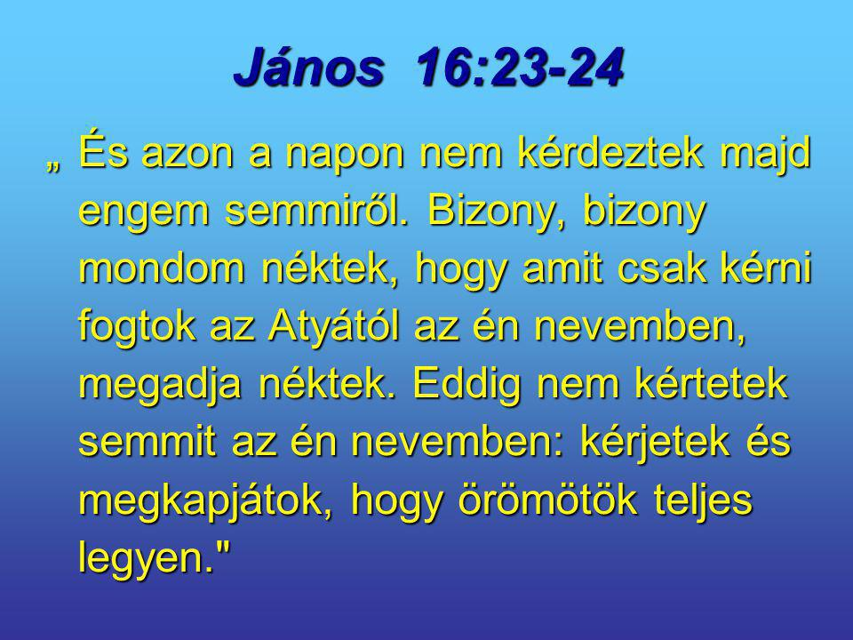 János 16:23-24