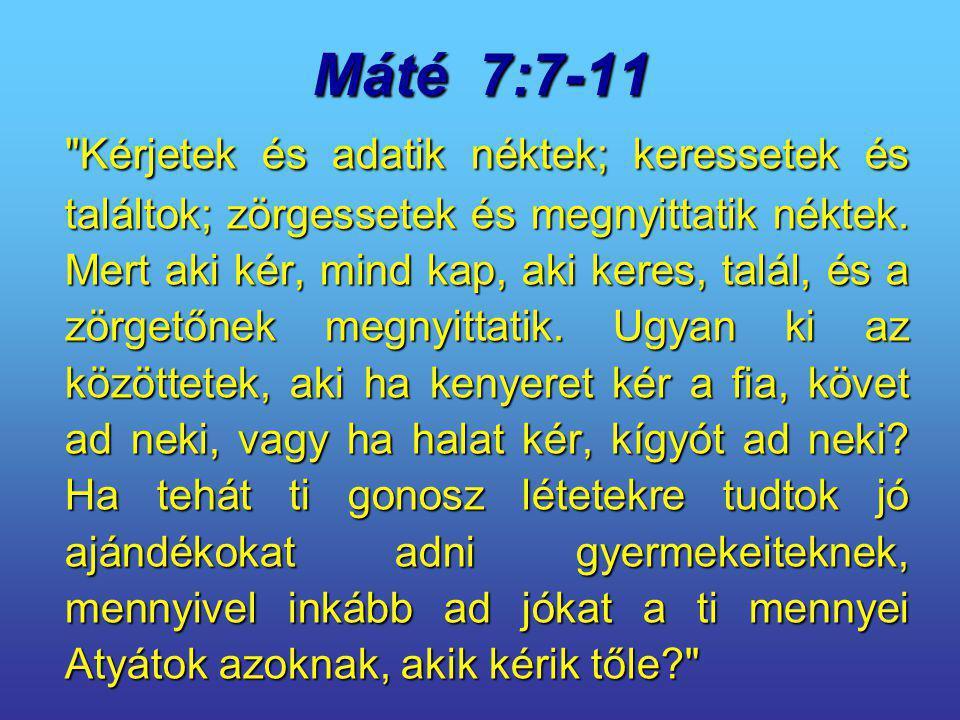 Máté 7:7-11