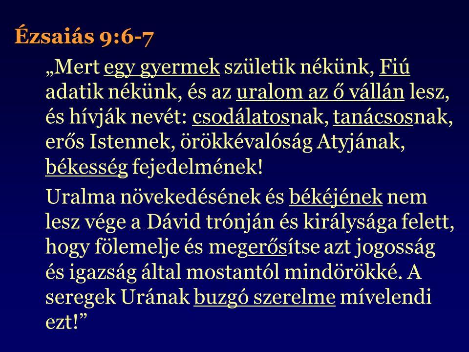 Ézsaiás 9:6-7