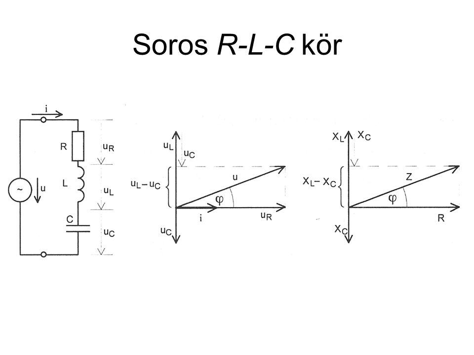 Soros R-L-C kör