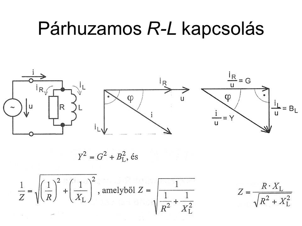 Párhuzamos R-L kapcsolás
