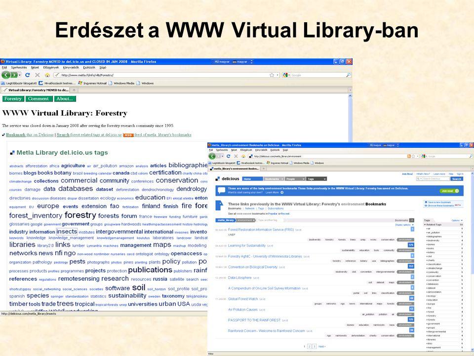 Erdészet a WWW Virtual Library-ban